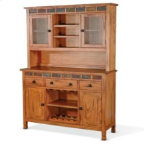 Buffet & Hutch w/ Slate Product Image