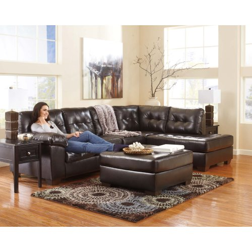 Alliston Chocolate Sectional Right