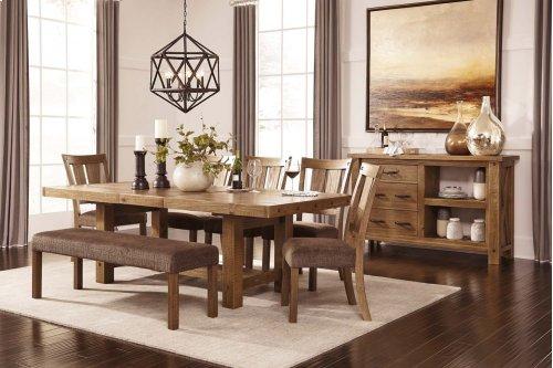 Tamilo - Gray/Brown 9 Piece Dining Room Set