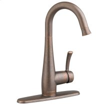 Quince 1-Handle Pull Down High Arc Bar Faucet  American Standard - Oil Rubbed Bronze