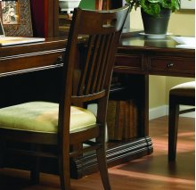 Home Office Peninsula Bookcase Base (N)