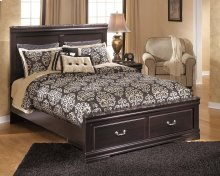 Esmarelda - Dark Merlot 4 Piece Bed Set (Queen)
