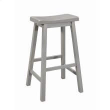 Casual Grey Bar Stool