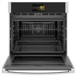 """GE Profile 30"""" Smart Built-In Convection Single Wall Oven with No Preheat Air Fry and Precision Cooking"""