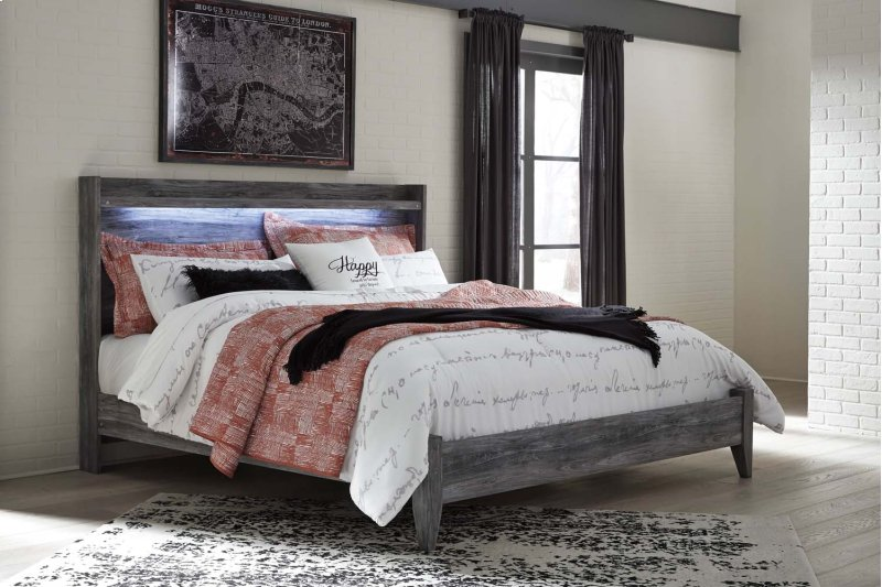 Additional Baystorm Gray 2 Piece Bed Set King