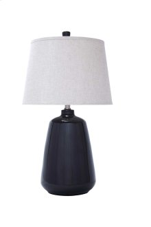 Ceramic Table Lamp (1/CN) Table Lamp - Dark Gray Collection Ashley at Aztec Distribution Center Houston Texas