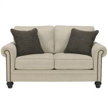 Signature Design by Ashley Milari Loveseat in Linen