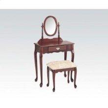 Wood Veneer Vanity Set/cherry