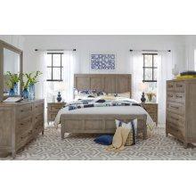 Breckenridge Panel Bed, King 6/6