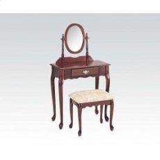 Wood Veneer Vanity Set/cherry Product Image