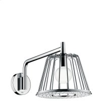 Chrome LampShower 275 1jet with shower arm