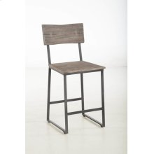 "Steamboat Counter Chair 18"" Weathered Gray"