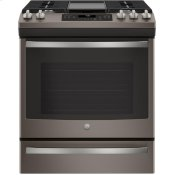 "30"" Slide-In Front-Control Convection Gas Range"