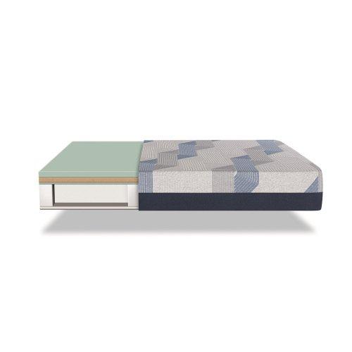iComfort - Blue 300CT - Plush - Twin
