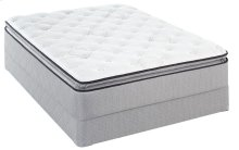 Sealy Brand - Beige - Level 4 - Plush - Euro Pillow Top - Queen
