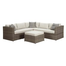 Peckham Park - Gray 2 Piece Patio Set