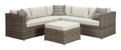 Peckham Park - Beige/Brown 2 Piece Patio Set Product Image