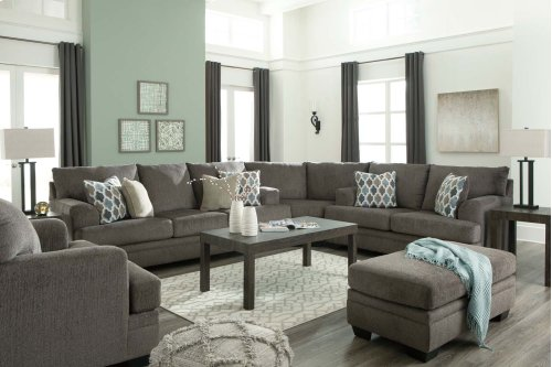 Dorsten - Slate 3 Piece Sectional