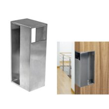Sliding Door Edge Pull Handle (stainless Steel)