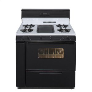 Premier36 in. Freestanding Gas Range with 5th Burner and Griddle Package in White