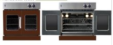 Residential Wall Oven, French Door Wall Oven , Brown Color