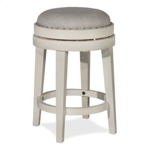Hillsdale FurnitureCarlito Backless Counter Stool - Weathered White
