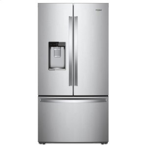 36-inch Wide Counter Depth French Door Refrigerator - 24 cu. ft. - FINGERPRINT RESISTANT STAINLESS STEEL