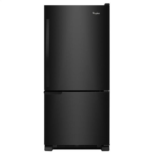 Whirlpool 30-inches wide Bottom-Freezer Refrigerator with Accu-Chill System - 18.7 cu. ft.