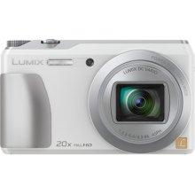 LUMIX DMC-ZS35 20X Long-Zoom Selfie Digital Camera - White