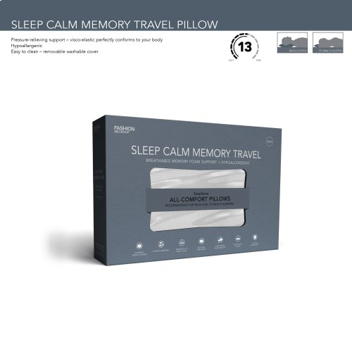 Sleep Chill Memory Foam Travel Pillow