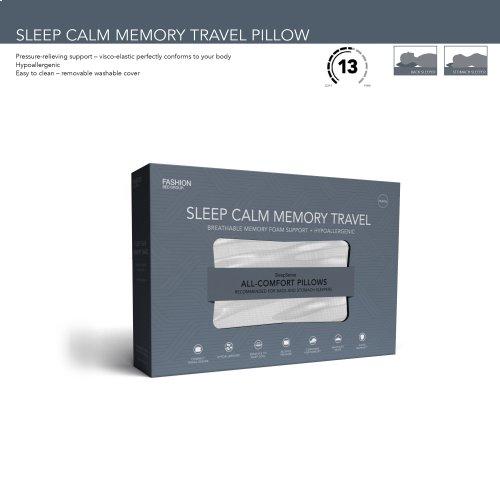 Sleep Chill Memory Foam Travel Pillow