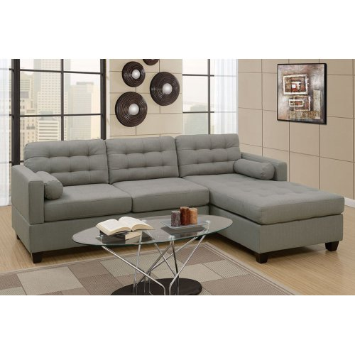 F7564 in by Poundex in Phoenix, AZ - 2-pcs Sectional Sofa