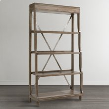 Western Brown Compass Etagere