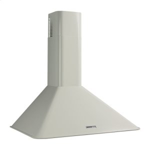 "BroanBroan 290 CFM, 35-7/16"" Wall-Mounted Chimney Hood in White"