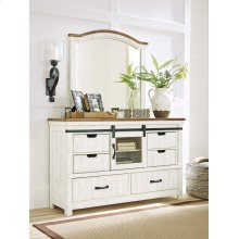 Wystfield - White/Brown 2 Piece Bedroom Set