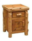 Cedar Enclosed Nightstand - Traditional Cedar Product Image