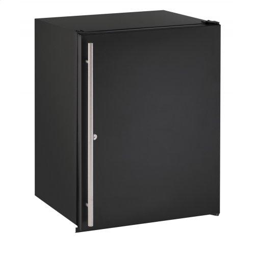 """Ada Series 24"""" Ada Solid Door Refrigerator With Black Solid (lock) Finish and Field Reversible Door Swing (115 Volts / 60 Hz)"""