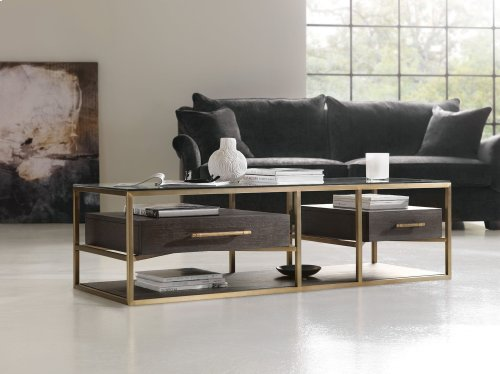 Living Room Curata Rectangle Cocktail Table