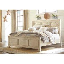 King Lattice Panel Bed