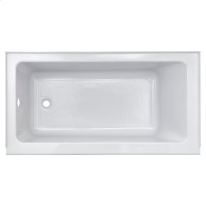 Studio 60 x 30-inch Bathtub with Apron  Right Drain  American Standard - White