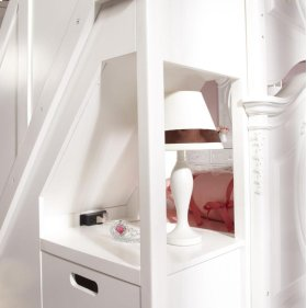 SweetHeart Bunk Bed Steps