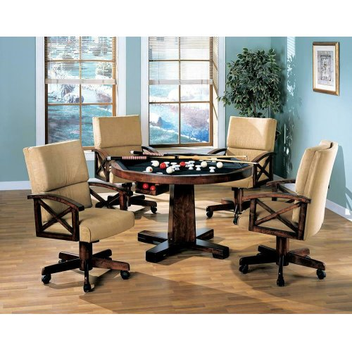 Marietta Casual Tobacco Game Chair