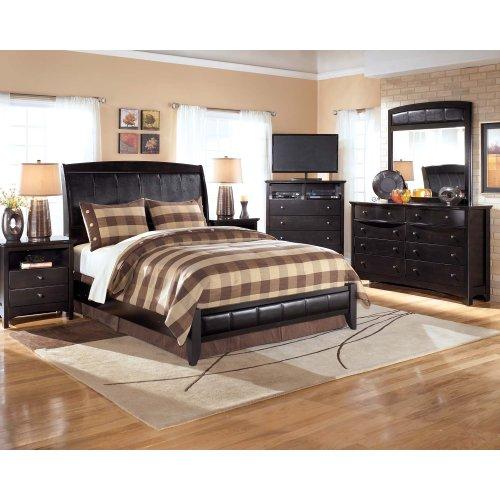 Harmony - Dark Brown 2 Piece Bedroom Set