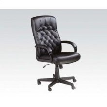 Bk Pu Office Chair W/lift @n