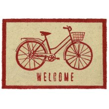 Doormat Bicycle Chili 24x36