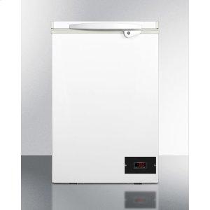 SummitCompact Laboratory Chest Freezer for -30 c Operation