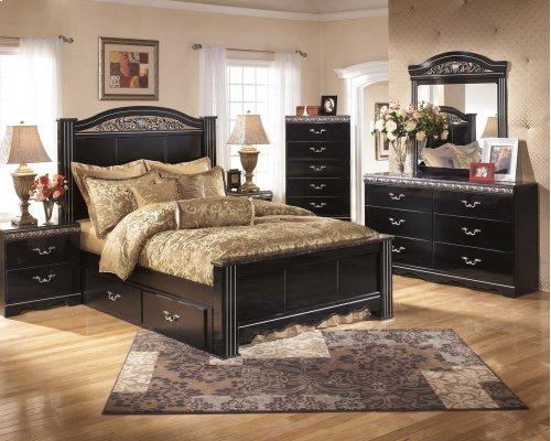 Constellations - Black 2 Piece Bedroom Set