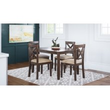 Walnut Creek 5 Pack - Table With 4 Chairs