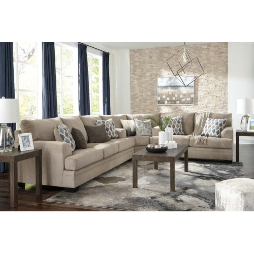 Dorsten - Sisal 3 Piece Sectional