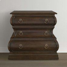 Classics by Bassett 3 Drawer Nightstand